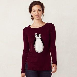 Nwt Lauren Conrad Penguin Sweater